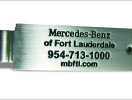 Mercedes-Benz-Fort-Lauderdale-Name-Plate-In-Steel