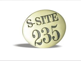 S-Site 235 Custom Metal Emblem