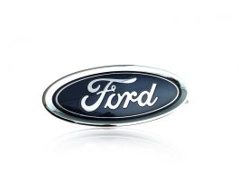Ford Logo in Silver Finish