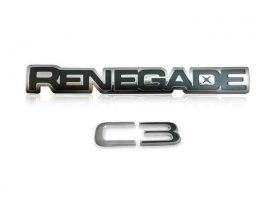 Renegade C3 - Custom Letters