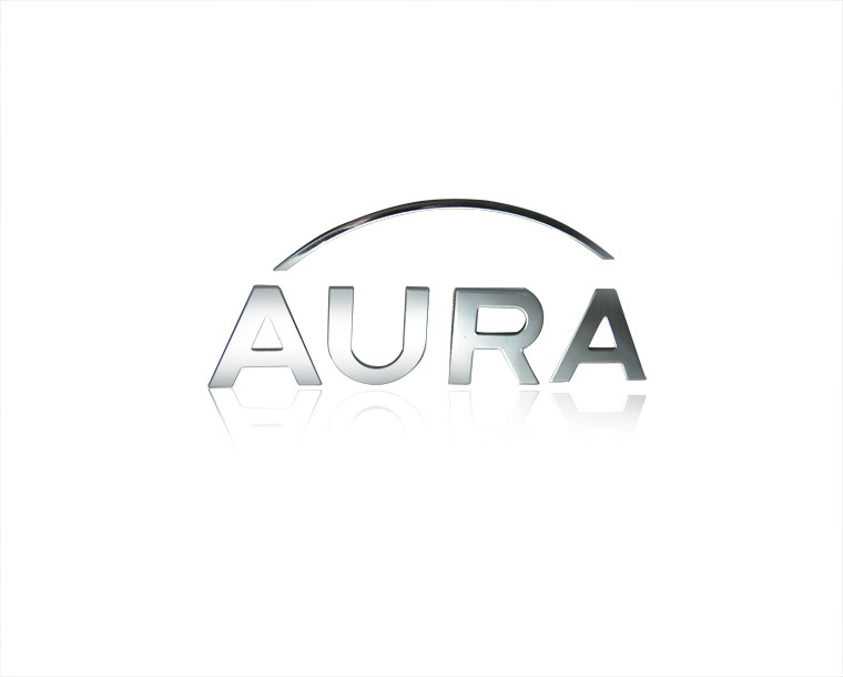 Aura Custom Logo In Silver