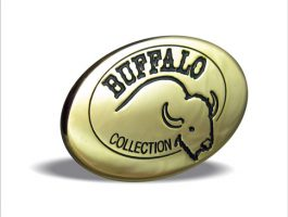 Buffalo Collection Emblem In Gold Finish