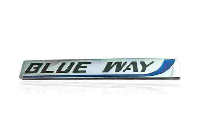Blueway Name Plate