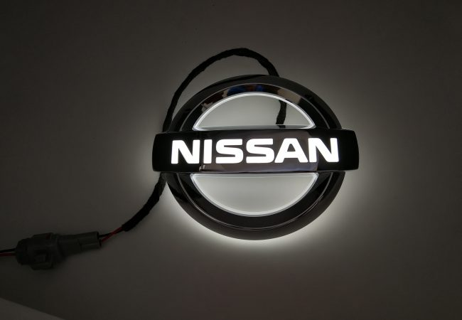 Nissan Led Badge